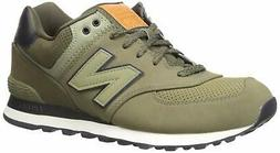 New Balance 574 Slippers Olive New