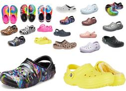 FUZZ Lined CROCS CLASSIC Clog Mens, Womens, Childrens sz 2-1