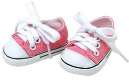 Sophia's Doll Clothing for 18 Inch Doll Pink Shoes Made Doll