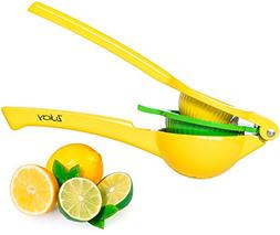 Top Rated Zulay Premium Quality Metal Lemon Lime Squeezer -