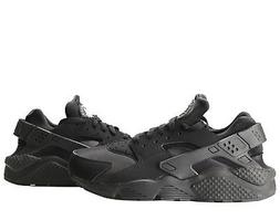 Nike Air Huarache Black/Black-White Men's Running Shoes 3184