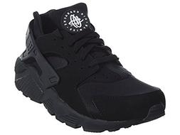 Nike Men's Air Huarache Black/Black/White Running Shoe