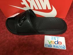 Nike Benassi JDI Men's Slide Black/Black Slipper 343880 001