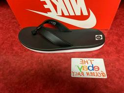Nike Benassi JDI Men's Slide Black/Red Slipper 343880-060 Fr