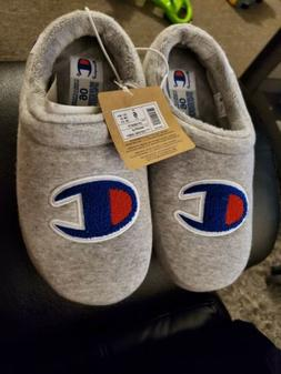 Champion Big Kid's Shuffle Slipper Oxford Grey Size 6