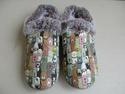 Bobs Skechers Dogs women slippers 11 NEW