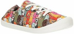 BOBS from Skechers 31965 Womens Beach Bingo-Dog House Party-