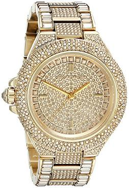 Michael Kors Women's Camille Gold-Tone Watch MK5720