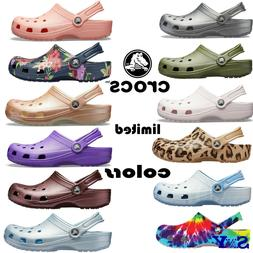 CROCS Classic LIMITED EDITION COLORS LightWeight Non-Marking