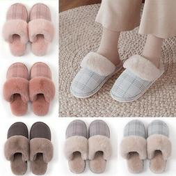 Cotton Slippers Soft Indoor Outdoor Warm Household Winter Wo