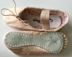 Capezio Daisy #205C Pink Leather Ballet Slippers Size Toddle