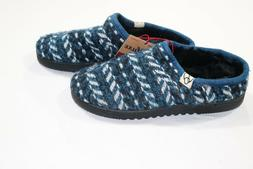 Deluxe by Dearfoams Womens Blue Clog Slippers Size Large 9/1