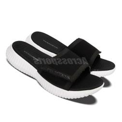Skechers Elite Flex-Shore Ridge Black White Men Sandals Slid