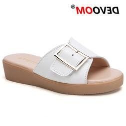 Fashion Buckle Home <font><b>Slippers</b></font> Dames <font