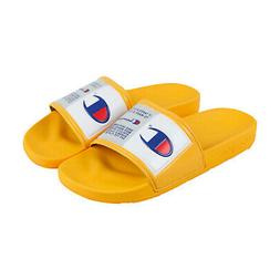 ipo jock mens yellow synthetic slides slip