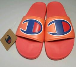 CHAMPION IPO Womens Slides Slippers Shoes Groovy Papaya CM10