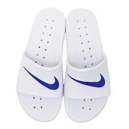 Nike KAWA SHOWER Men's Slide white/blue moon Slipper 832528