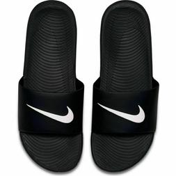 Nike Kawa Slide 832646-010 Black White Men's Slide Sandals N