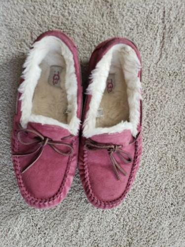 Dakota Suede Moccasin Slippers Shoes 41