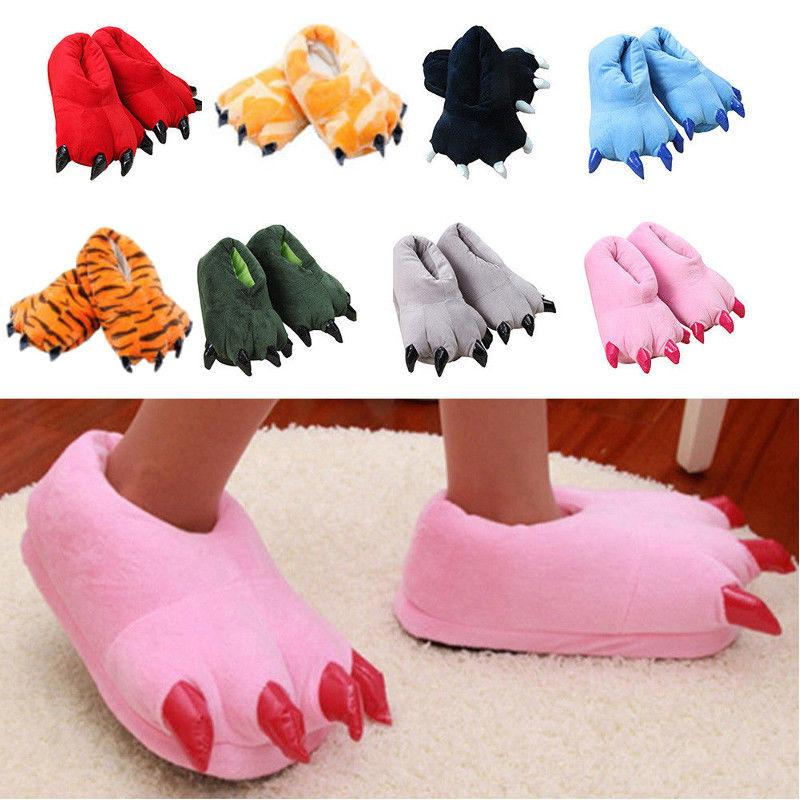 Feet Slippers Paw Indoor Gift