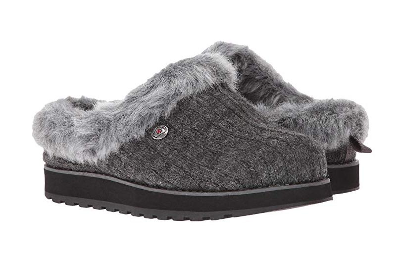 bobs from slippers for women grey