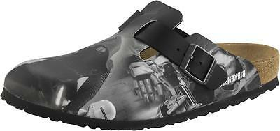 BIRKENSTOCK BOSTON KYLO REN BLACK STAR WARS MEN'S CLOGS SLIP
