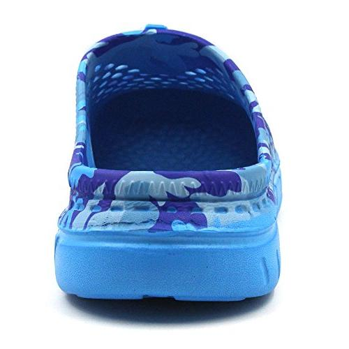 Amoji Shoes Indoor Outdoor Camouflage Dry Outside Lightweight Summer Breathable Men Ladies Women/7.5-8US