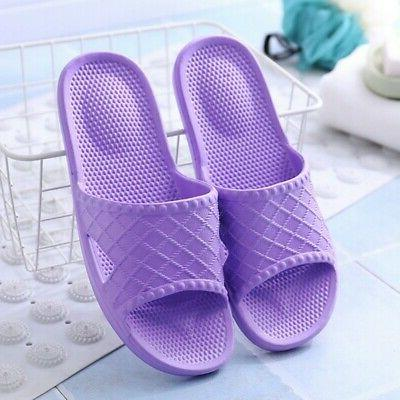 Indoor Women Men Non-Slip Home Bathroom Sandals Shoes US