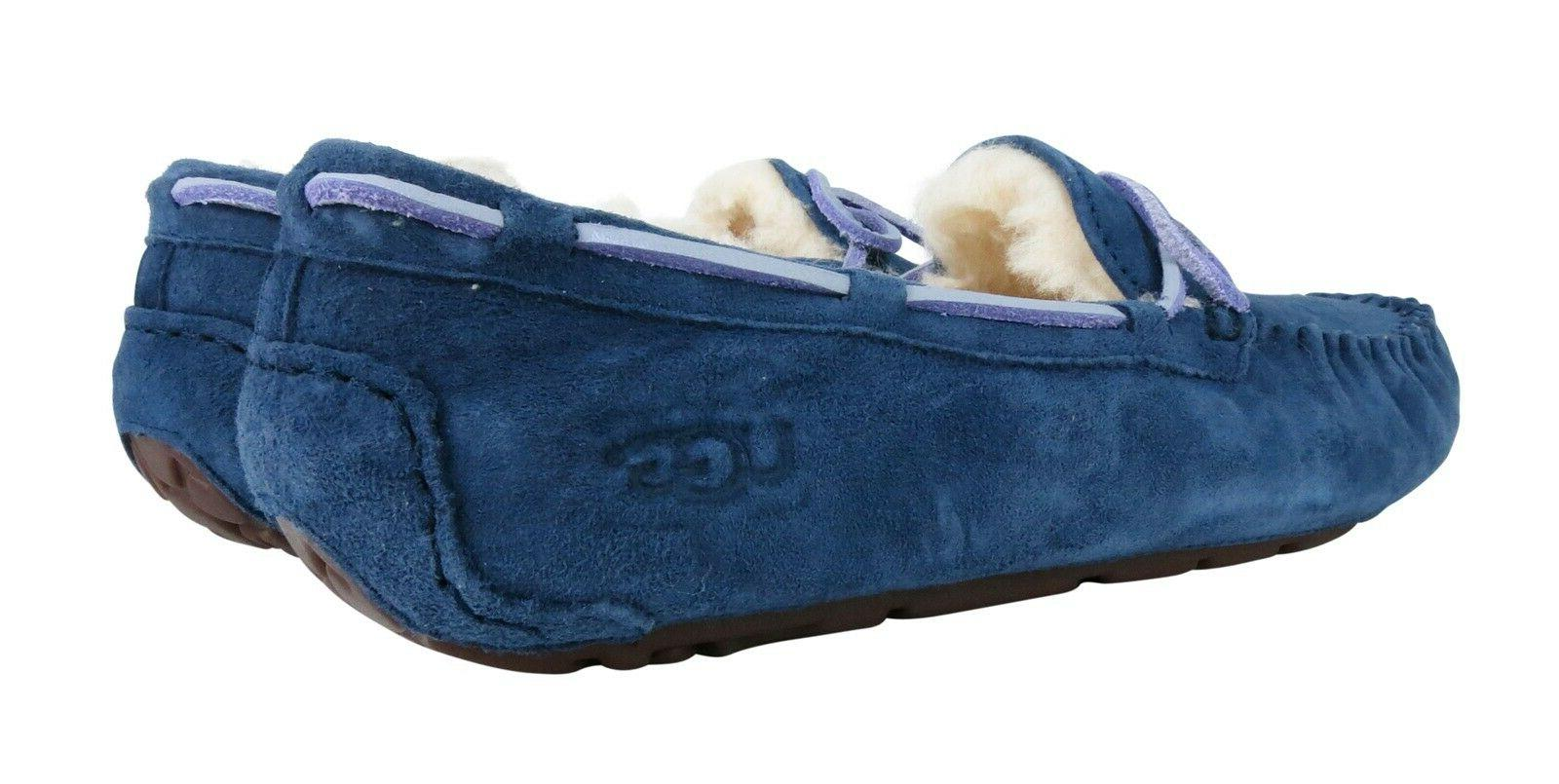UGG Peacoat Suede Slippers