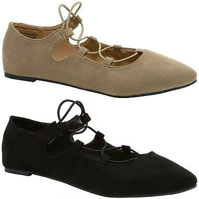 elena womens pointed toe ballet flats strappy