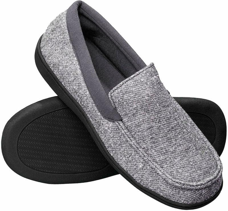 hanes men s slippers house shoes moccasin