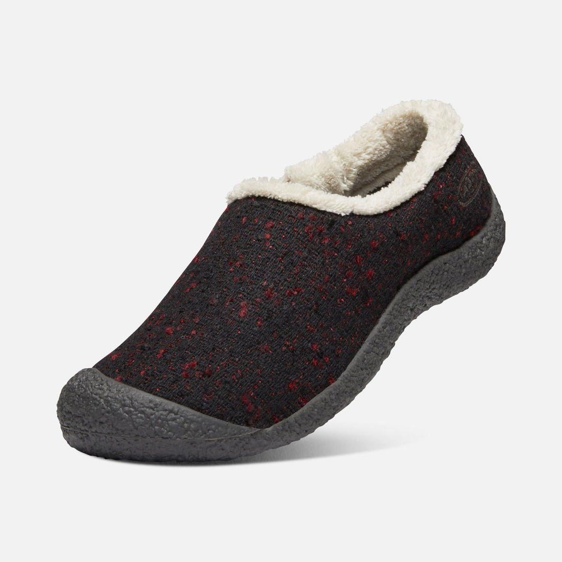 Keen Slide Slipper Brick Raven