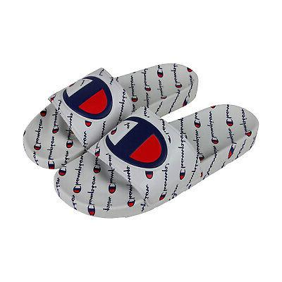 ipo repeat mens white synthetic slides slip