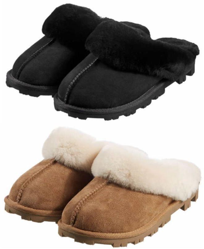 Kirkland Signature Ladies Shearling Slippers. Pick Your Size