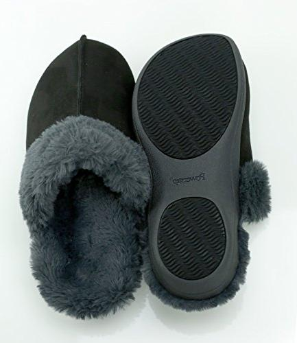 Powerstep Orthotic Slippers Foam Slip-Ons with Arch Support