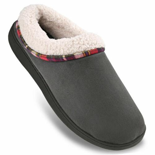 Men's Memory Slippers House Shoes