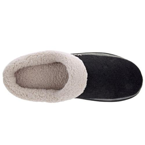 Men's Winter Slippers House Shoes Anti-Skid