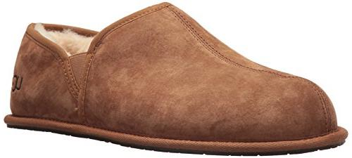 men s scuff romeo ii slipper chestnut