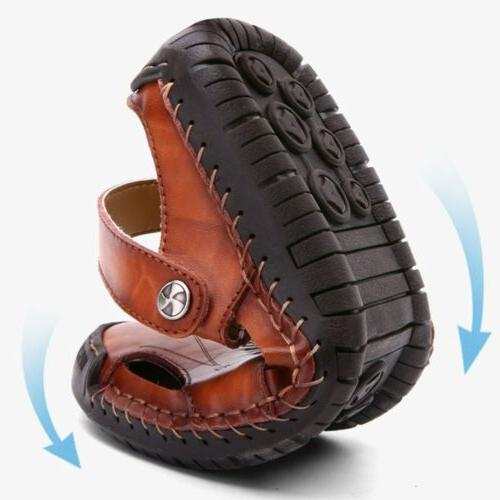 Size 7-13 Mens Leather Safety Closed Outdoors