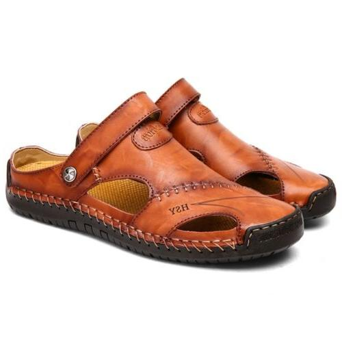 Size 7-13 Mens Leather Safety Closed Toe Outdoors Casual