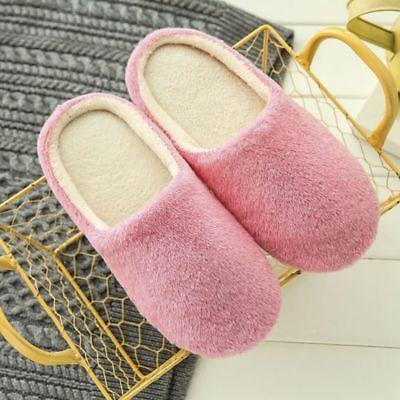 Men Touch Warm Slippers House Home Anti-slip US