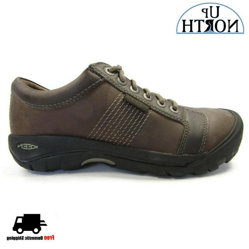 Keen Mens Austin Casual Shoe 1007722 Chocolate Brown WP NEW!