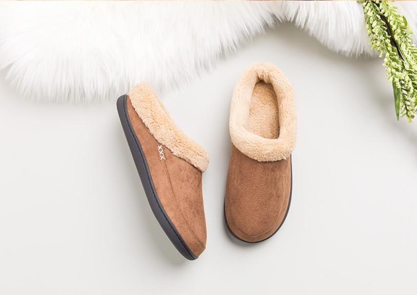 Mens Lined Slip Shoes