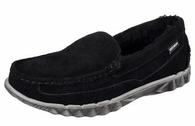 NEW MEN SKECHERS 64949 BLACK SURF COMBER SLIP ON LOAFER SNEA