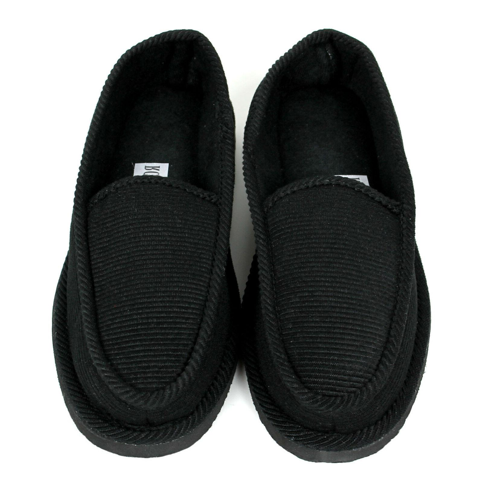 New Slippers Corduroy Shoes Male Size