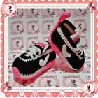 NEW Tennis NIKE Baby sneakers shoes slippers PINK crochet gi
