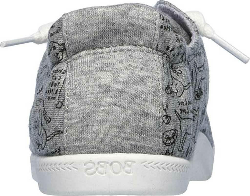NEW BOBS Beach Gray KNIT FABRIC Shoes