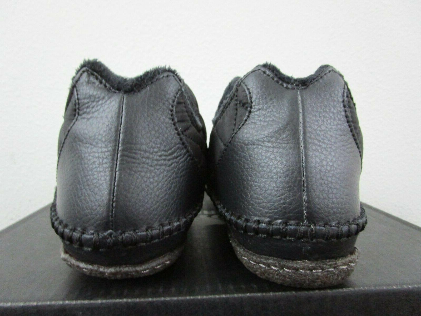 NIB Mens Manawan Slip Shoes Black