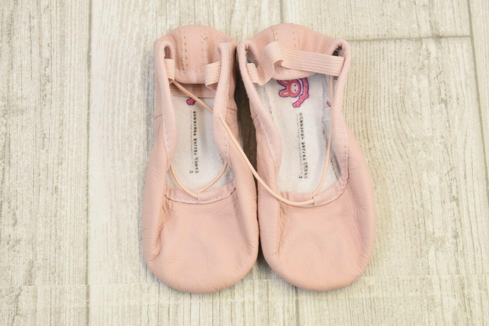 + S0225G Ballet Slippers-Toddler Pink Size
