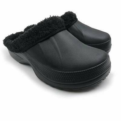 Amoji Clogs Shoes, Black, 12.5 UZJX